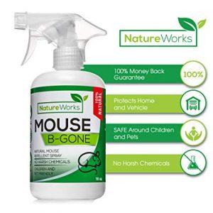 organic deterrent spray against mice