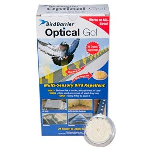 Bird Barrier Optical Gel Multi-Sensory Bird Repellent for Woodpeckers.