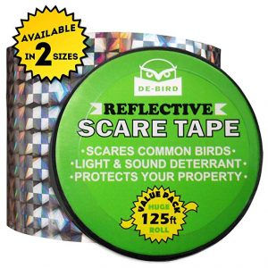 De-Bird Scare Tape - Simple Control Device to Keep Away Woodpeckers.