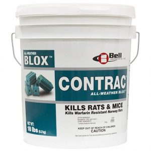 Bell Labs Contrac Blox Rodent Control Rodenticide