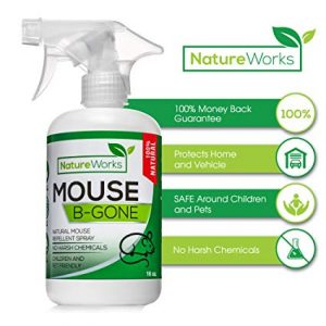 organic deterrent spray against mice