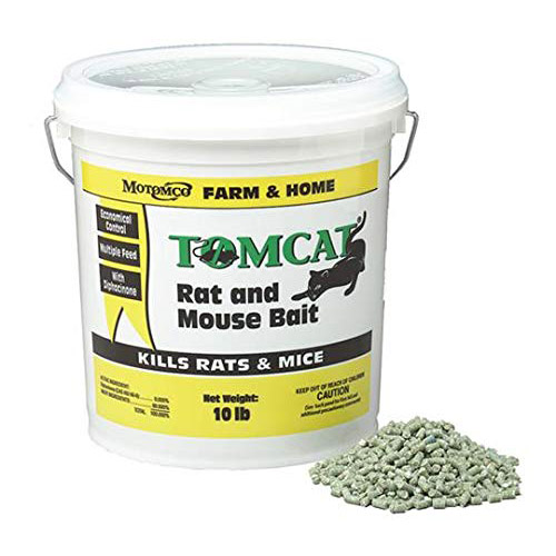 Motomco Tomcat Rat and Mouse Bait Pellet